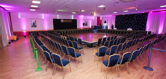Our hall is available for any type of event
