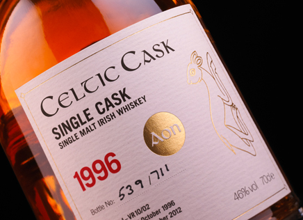 New Graphic Celtic Cask