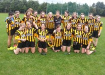 Under 14 girls all set for their final