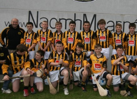 U-15 hurlers getting set for their final!