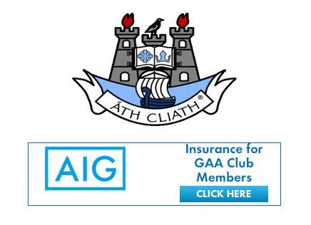 AIG insurance offer for GAA club members