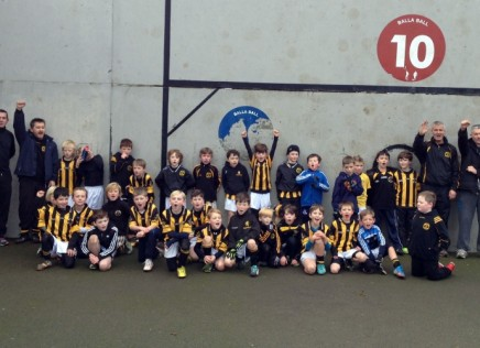 Heavenly Hurling by the U8′s