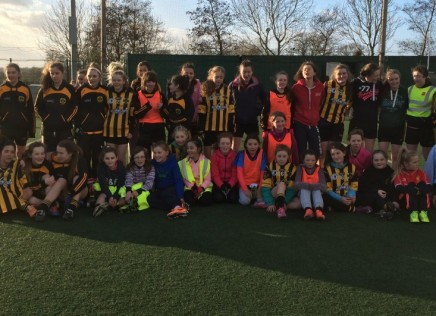 The Ladies footballers kick-off their season with a January blitz!