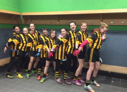 U12 Girls blow Parnells away!