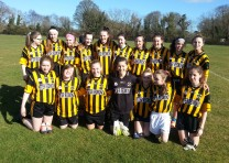 U15 Girls remain unbeaten