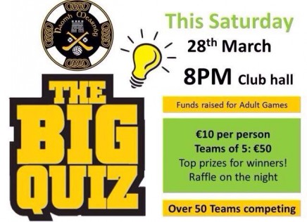 Get your quiz hats on!