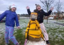 Snow hits Blitz as Ref calls Quits!