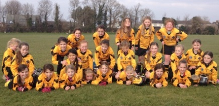 Camogie girls snap, crackle and pop!