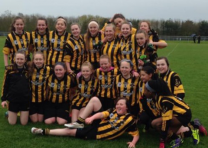Girls Football – Feile'15 – highlights