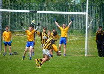 U14s footballers perform well at Féile na nÓg
