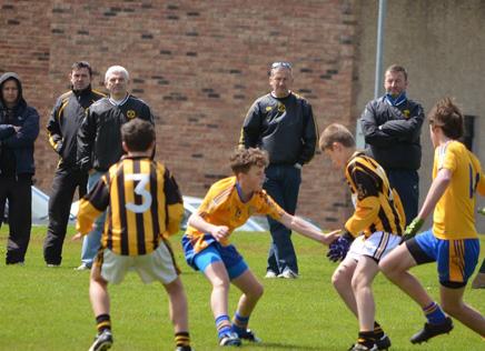 U14s footballers perform well at Féile na nÓg