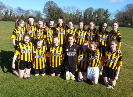 League Title victory for U15 Girls