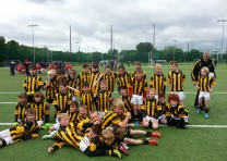 Jelly snakes were earned by the U9s Boys