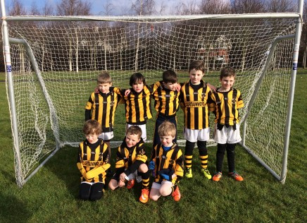 The U8 Boys made their Supporters Proud.
