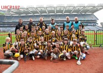 Naomh Mearnóg under 8s make their mark in Croker!