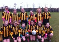 U13 Girls dig deep to beat Na Fianna by the minimum!