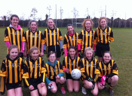 U13 Girls dig deep to beat Na Fianna by the minimum!