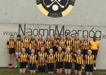 Mearnóg girls blitz Football Feile