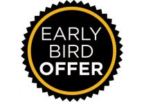 "10% ""Early Bird"" membership offer"