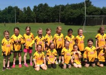 Great day for Girls U7!