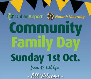 Naomh Mearnóg Community Family Fun Day – Sun 1st Oct