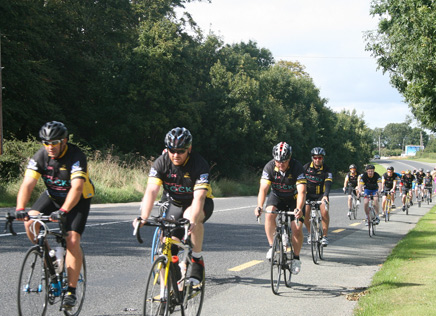 Annual Frances Tobin Memorial Monaghan to Dublin Give It Socks Charity Cycle