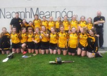 U-14 camogie girls win the championship!
