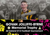 Launch of the Govan Jolliffe-Byrne memorial trophy