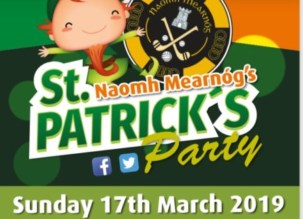 St Patrick's Day Party 2019